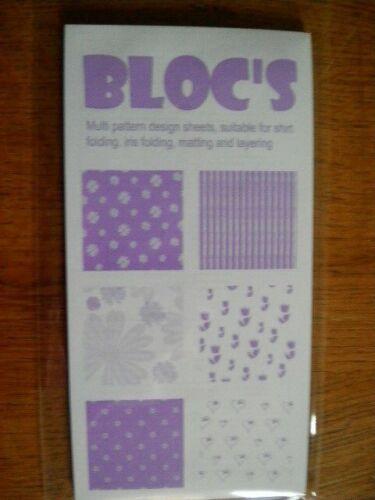 choix de couleurs Bloc design de feuilles B327