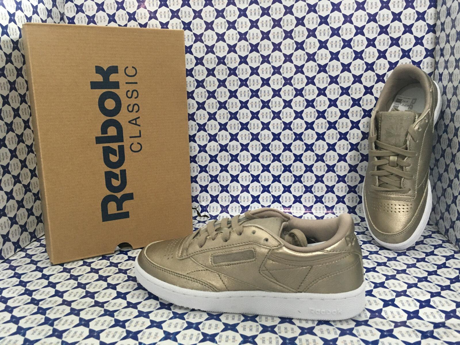 shoes Reebok women - Club C 85 - gold - BS7901