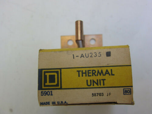 Square D AU235 Thermal Unit Overload Heater Heat Coil New