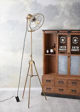 Stehleuchte Design Stehlampe Stativ Standleuchte 160cm Metallleuchte Fabriklampe