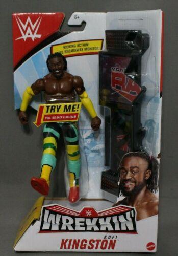 Mattel WWE Wrekkin Kofi Kingston Action Figure