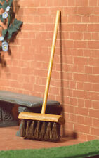 Yard Brush / Broom, Dolls House Miniatures, Garden Accessory, 1,12 Scale