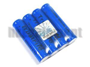 Trustfire-10440-Rechargeable-Li-ion-3-7v-600mAh-Battery-x4