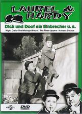 Dick und Doof (Laurel & Hardy) Als Einbrecher u.a.                   | DVD | 555