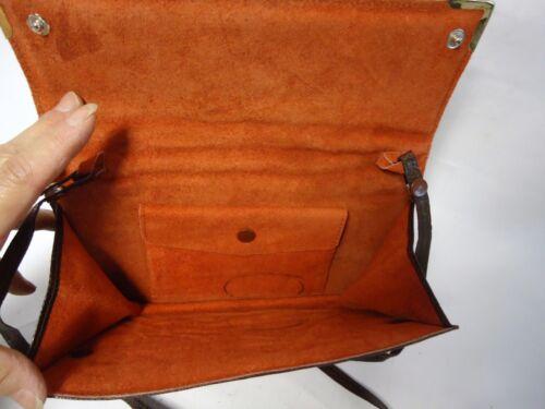 Beautiful Clutch Lizard Brown Shoulder Convertible Skin Vintage Real Bag Hqr6HF