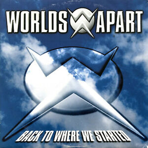 Worlds-Apart-CD-Single-Back-To-Where-We-Started-Europe-VG-VG