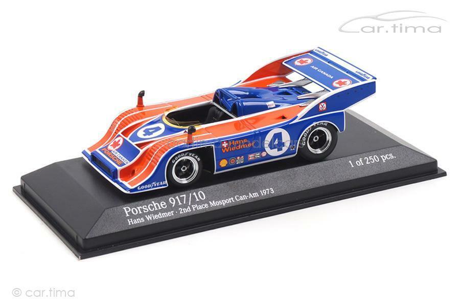 Porsche 917 10 - CanAm Mosport 1973-Hans wiedmer-Minichamps 1 43 - 437736504