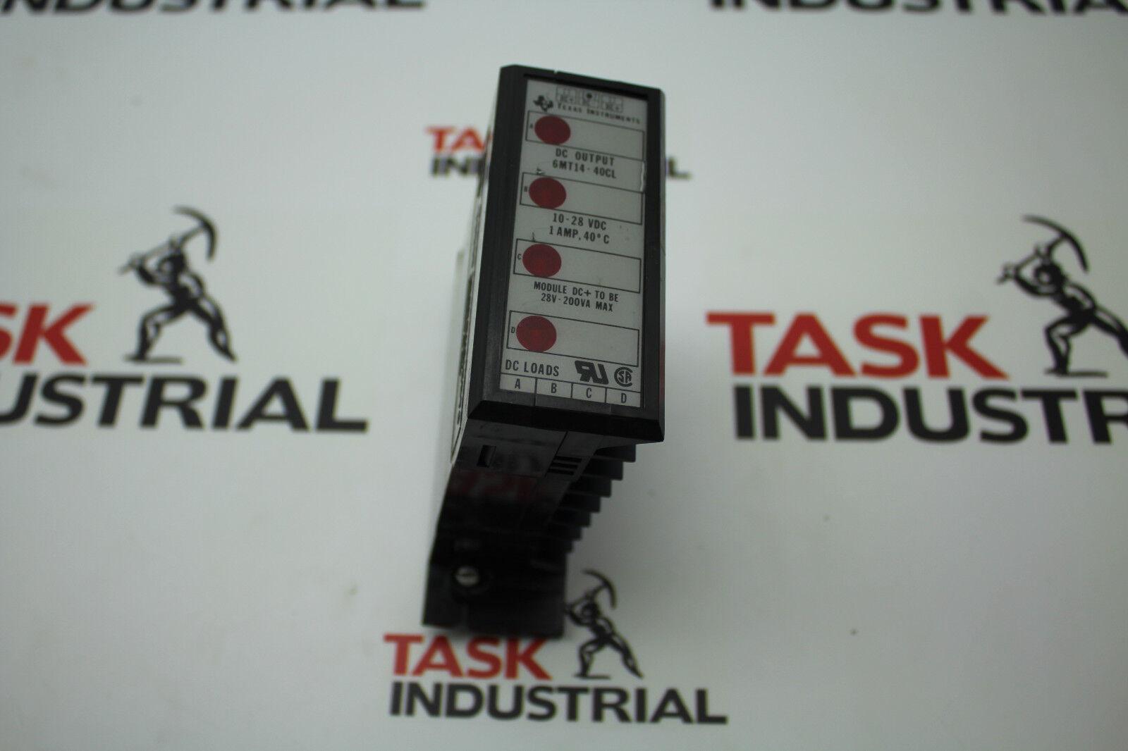 Texas Instruments 6MT14-40CL Output Module