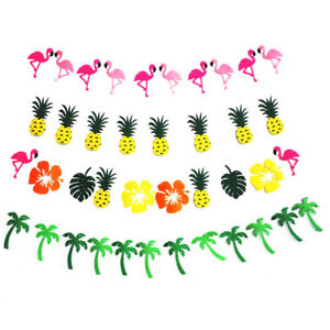 Summer-Garland-Flamingo-Pine-Banner-Party-Hawaiian-Home-Outdoor-Decor-RIT-LC