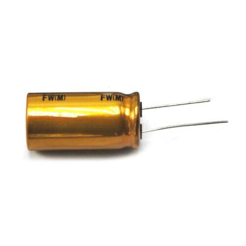 2pcs Nichicon 2200uF 63V FW Audio Capacitor Amplifier Electrolytic Capacitance