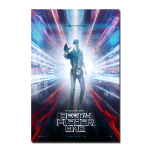 Ready Player One 2018 A Steven Spielberg Film Silk Poster 13x20 32x48 inch
