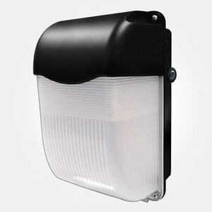 11w led bulkhead with photocell ip65 outdoor amenity wall light ebay for Exterior wall lights with photocell