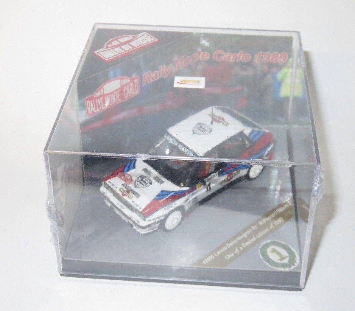 1 43 Lancia Delta Integrale 8V Martini Winner Rally Monte Carlo 1989  M.Biasion