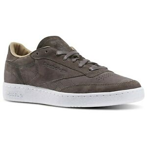 REEBOK-CLASSICS-CLUB-C-85-LST-TRAINERS-GREY-SHOES-SNEAKERS-COMFY-MEN-039-S-SALE-NEW