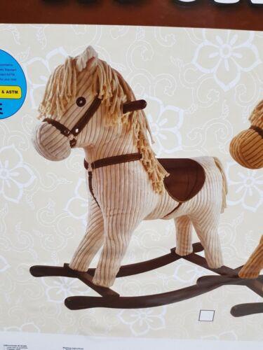 Rocking Horse Schaukelpferd Weiß RH4862 NEU
