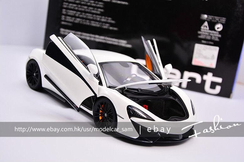 Autoart 1 18 McLaren 570 S Blanc