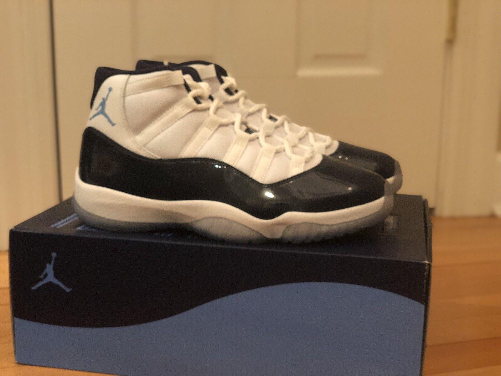 Air Jordan 11 Win Like 82 Size 10.5 XI Retro Midnight Navy bluee White 378037 123