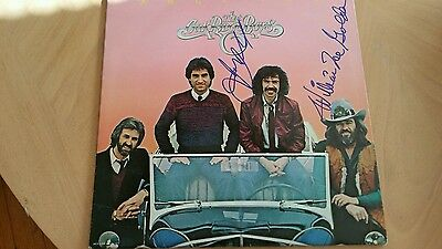"2019 Latest Design Signed The Oakridge Boys ""fancy Frer"" Album Jsa#l14382 Making Things Convenient For The People Entertainment Memorabilia Records"