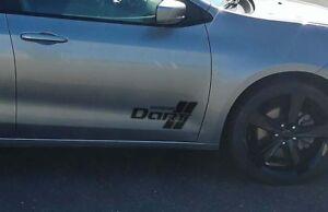 2017 Dodge Dart >> Details About 2013 2017 Dodge Dart Door Logo Decal Sticker Set