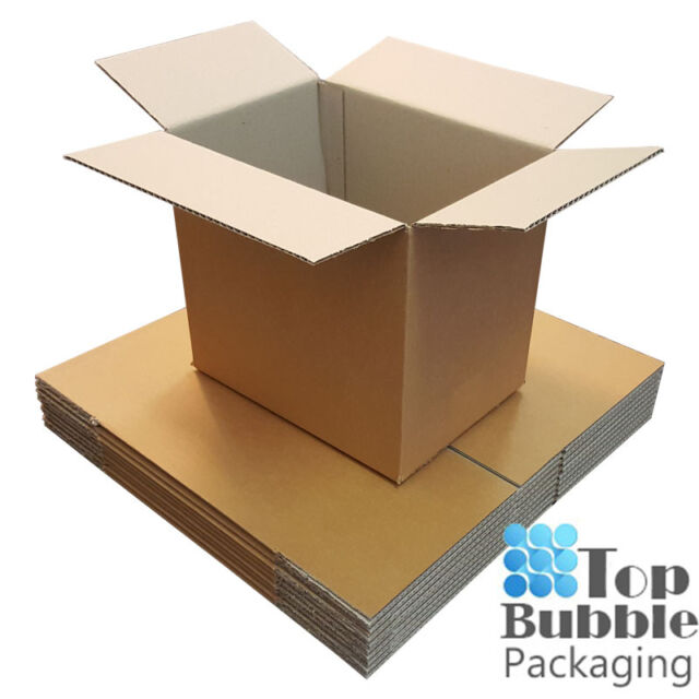 Cardboard Boxes A4 Size 305x220x275mm 20 Pieces Brown Box Strong Carton Packing