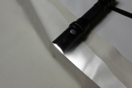 Vorhang Thermogardine Blackout Gardine 100/% Lichtdicht Verdunkelung Kräuselband