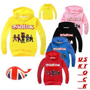 0e3f113a5af9 Image is loading Kids-Game-Roblox-Cartoon-Hoodies-Boys-Sweatshirt-Clothes-