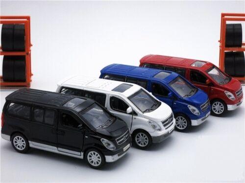 Hyundai Grand Starex 1:36 Scale Diecast Model Car Metal Mini Van Pull Back Toy