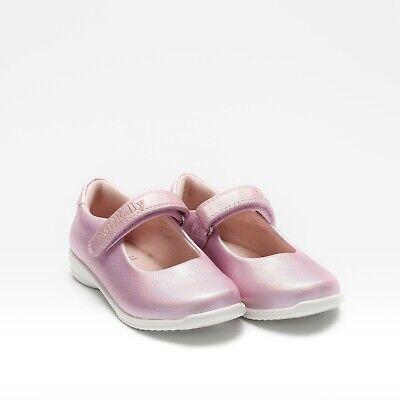 NEW Lelli Kelly PRINCESS Pearlised Pink Dolly Shoe LK9750 Sizes 24-33