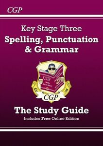 CGP-Books-Spelling-Punctuation-and-Grammar-for-KS3-Study-Guide