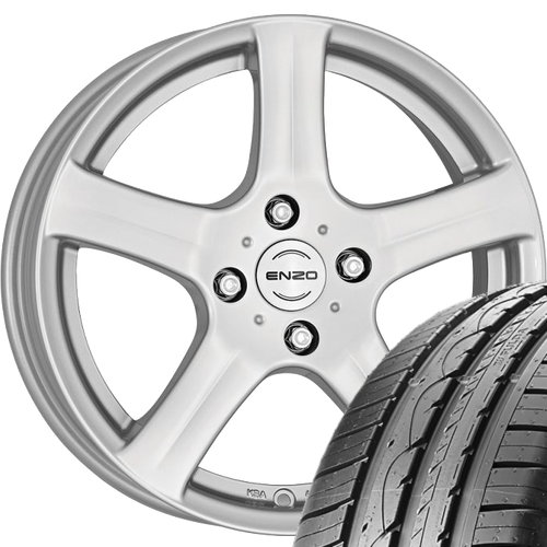 Sommeraluräder VW Vento 1HX0 205/50 R15 86V Fulda mit felge 6x15.0 ET38