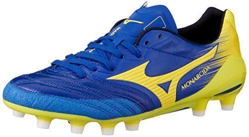 MIZUNO fotbollsskor Spike skor MONACIDA 2 NEO JAPAN P1GA1820 Navy {65533;; 65533;; gul US8 NY