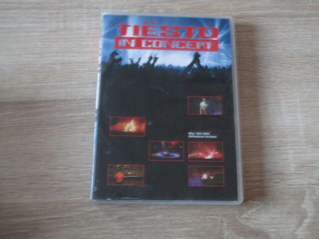 Tiesto In Concert (2003) 2 DVD Musik