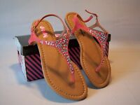 Jolly Mix Coral Sandals Women's Size 6.5