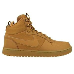 f73f610ee2555 Image is loading Mens-NIKE-COURT-BOROUGH-MID-WINTER-Wheat-Trainers-