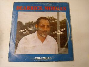 Dearrick-Morgan-Greatest-Hits-Volume-I-Vinyl-LP-1983