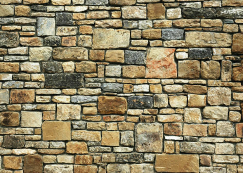 #   5 SHEETS EMBOSSED BUMPY BRICK stone wall 21x29cm SCALE 1/12 CODE c54f6