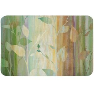 Waterfall-Branches-Leaves-Vinyl-Placemats-in-Sets-of-2-4-or-6
