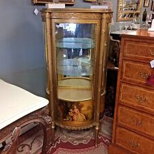 Antique French Curio Cabinet
