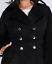 Lane-Bryant-Military-Double-Breasted-Coat-14-16-18-20-22-24-26-28-1x-2x-3x-4x thumbnail 2