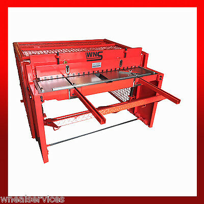 WNS Sheet Metal Treadle Guillotine Replacement Springs Edwards Foot Shear