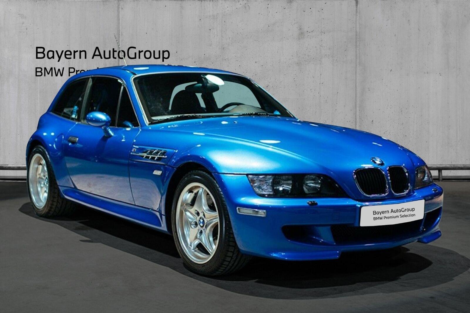 BMW Z3 3,2 M Coupé 2d - 2.495 kr.
