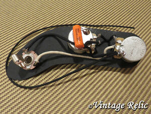 Upgrade wiring pre-wired fits Fender P Bass Precision CTS pots ...