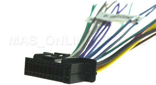 USA 22PIN WIRE HARNESS FOR KENWOOD DNX575S DNX-575S * FREE FAST SHIPPING*