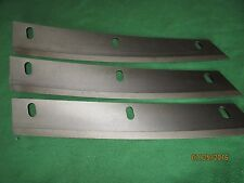 3 NEW OEM GEHL FORAGE HARVESTER KNIFES 061840 CB1200,CB1250,CB1260,CB1265,CB1275