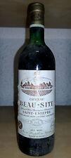 Saint Estèphe 1973 Château Beau Site médaillé d'or grand vin de Bordeaux superbe
