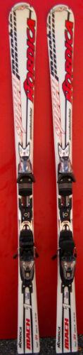 Skis parabolique NORDICA Speedmachine Mach 1 Fixations 154cm à 178cm