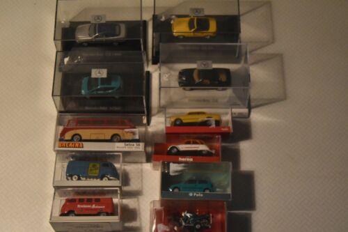 individuales Herpa//breckina modelo coches nueva de fábrica