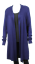 Long-Drape-Cardigan-LILIA-WHISPERS-Plus-Size-10-18-Women-Black-Cardi-Jacket thumbnail 7