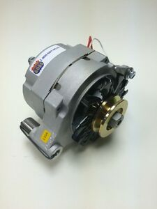 Details about 66-77 EARLY CLASSIC FORD BRONCO 1 OR 3 WIRE ALTERNATOR 135  AMP 1 GROOVE PULLEY