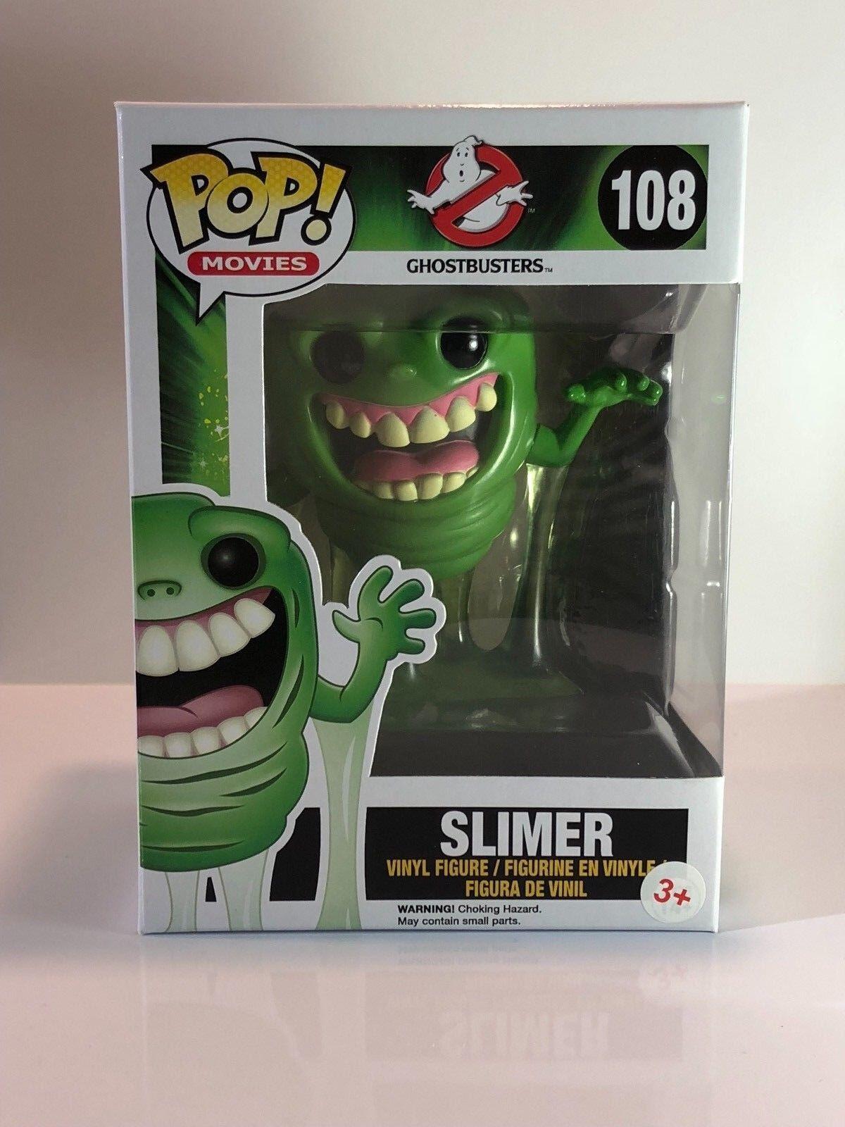 Funko POP  Ghostbusters Slimer rare vaulted Vinyl Figure